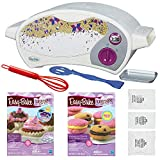 FLASH PARTY Easy Bake Oven Star Edition + Red Velvet Cupcakes Refill + Chocolate Chip and Pink Sugar Cookies Refill + Mini Whisk.