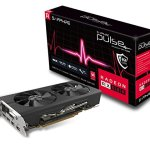 Sapphire Radeon 11265-05-20G Pulse RX 580 8GB GDDR5 Dual HDMI/ DVI-D/ Dual DP OC with Backplate (UEFI) PCI-E Graphics…