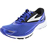 Brooks Men's Launch 4 Black/Anthracite/Electric Brooks Blue 10 D US
