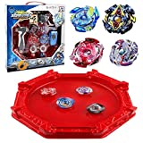KAVCENT Bey Battle Blade Burst Turbo Evolution Star Storm Battle Set Arena Included with 4D Launcher Grip Set