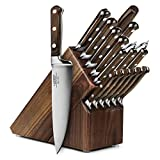 Lamson Signature 18-piece Walnut Knife Block Set