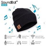 SoundBot¨ SB210 HD Stereo Bluetooth 4.1 Wireless Smart Beanie Headset Musical Knit Headphone...
