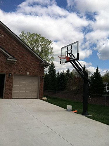Pro Dunk Gold with Rust Armor Best Selling Driveway Basketball Goal...