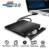 External DVD CD Drive USB 3.0 Burner Writer Drive Player High Speed Data Transfer for Laptop/Desktop