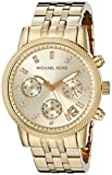 Michael Kors Women's MK5676 Ritz Gold-Tone Stainless Steel Chronograph Watch
