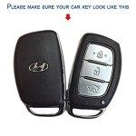 KKRONAS Silicon Key Cover for Hyundai Elite i20 (Push Start Key)