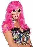 Forum Novelties Women's Wig-Pop Art Katie Kapow Party Supplies, Standard, Pink