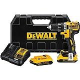 DEWALT DCD791D2 20V MAX XR Li-Ion 0.5' 2.0Ah Brushless Compact Drill/Driver Kit
