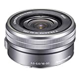Sony SELP1650 16-50mm f/3.5-5.6 OSS Alpha Zoom Lens Silver Bulk packaging , International Version (No Warranty)