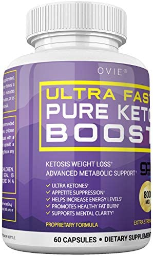 Ultra Fast Keto Boost - Advanced Clinically-researched Patented GoBHB Pure BHB Salts (beta hydroxybutyrate) - 800mg Keto Diet Pills - Best Ketosis Ketogenic Supplement; 60 Capsules; 30 Day Supply 7