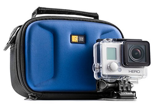 Camera Case By Case Logic for GoPro | Molded, Cushioned Hard-shell Portable Carrying Case for GoPro Camera