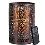 Aromatherapy Essential Oil Diffuser with Remote Control, ARVIDSSON 2 in 1 Flickering Candlelight & Ultrasonic Diffusers for Essential Oils, Cool Mist Aroma Diffuser Humidifier for Home Office