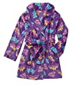 DC Comics Girl's Super Hero Plush Robe Pajamas Batgirl Supergirl Wonder Woman