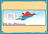 Superman Toupee - Rhymes with Orange Funny Birthday Card
