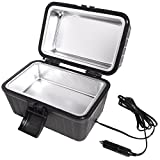 Car and RV Lunch Box With 12 Volt Powered Stove – Plugs Into Car Cigarette Lighter Or Any 12V Source – Quickly Heats Food Up To 300-Degrees Fahrenheit