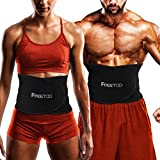 FREETOO Waist Trimmer, Waist Trainer for Weight Loss Women Waist Trimmer for Fat Burning Waist Training Belt, Lightweight and Comfortable,Suitable for Fitness,Training,Running,for Men and Women