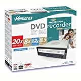 Memorex 20x LightScribe Internal DVD Recorder (32023220)