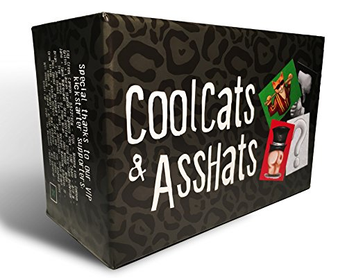 CoolCats & AssHats - Adult Drinking Card...