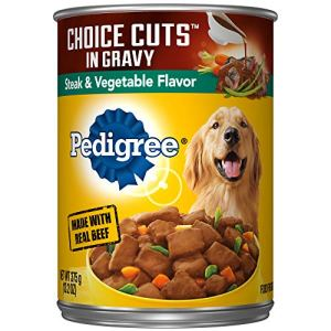 Pedigree Choice Cuts In Gravy Steak & Vegetable Flavor Adult Canned Wet Dog Food, (12) 13.2 Oz. Cans 9