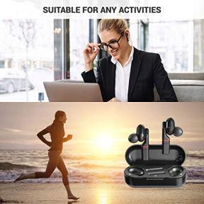 SimpTronic-True-Wireless-Earbuds-Bluetooth-50-Headphones-in-Ear-TWS-Mini-Headset-for-Sport-Deep-Bass-Stereo-Earphones-HD-Sound-Waterproof-Noise-Cancelling-Mic-30-Hours-Playtime-Black