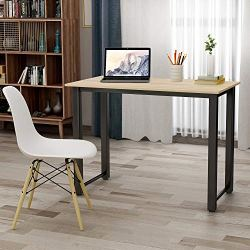 47″ Writing Desk Table Workstation for Home & Office (Oak)