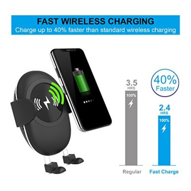 Wireless-Car-Charger-Spedal-Qi-Fast-Charger-Air-Vent-Cell-Phone-Holder-Wireless-Car-Charger-Phone-Mount-for-iPhone-XiPhone-8-PlusiPhone-8-Samsung-Galaxy-Note-8S8S8-Plus-and-Qi-Enabled-Devices