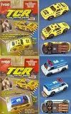 1991 TYCO TCR Mustang & Van Slotless Jam Car Pair