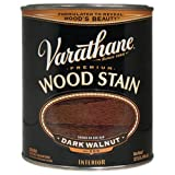 Varathane 211807 Premium Wood Stain, Half Pint, Dark Walnut