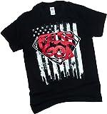 """False God"" Graffiti -- Batman v Superman: Dawn Of Justice T-Shirt, XXX-Large"