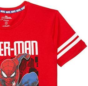 Spiderman-By-Kidsville-Boys-Regular-Fit-T-Shirt