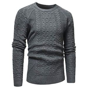 black-shop Sweater Jumper Men Autumn Winter Solid Pullover Casual Knitted Trutleneck Sweaters for Male