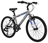 Diamondback Bicycles Insight 20 Complete Children's Performance Hybrid Bike, 20-Inch Wheels/One Size, Silver
