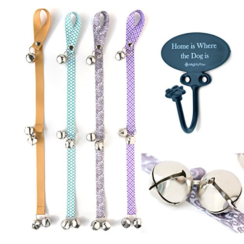 Mighty Paw Tinkle Bells 20 Designer Dog Doorbells Stylish Fabric