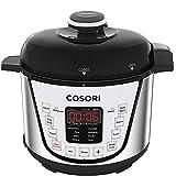 COSORI C3120-PC Pressure Slow, Rice Cooker, Sauté, Steamer, Yogurt Maker Warmer, 24h Delay Timer, 2-Year Warranty, 2 Quart, Silver