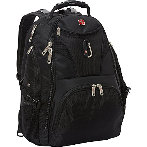SwissGear Travel Gear 5977 Scansmart TSA Laptop Backpack for Travel, School & Business - Fits 17' Laptop - (Black)