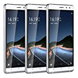 Cell Phone Unlocked 6.0' Android 5.1 MTK6580 Quad Core-JUNING Dual Sim 3G/GSM Smartphone White