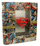 SUPERMAN Comic Book Tin Storage Box Licensed Comic Item
