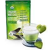 Organic Matcha Green Tea Powder - Japanese Culinary Grade Matcha - 4 ounces (113 grams) - Increases Energy and Focus and Naturally Supports Weight Loss - From Kiss Me Organics