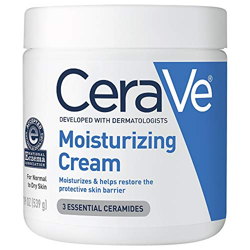 CeraVe Moisturizing Cream | Body and Face Moisturizer for Dry Skin | Body Cream with Hyaluronic Acid and Ceramides | 19…