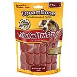 DreamBone Pork Stuffed Twistz Dog Chew, One Size, 6 pieces/pack