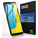 TopACE for Samsung Galaxy J6 2018 Screen Protector, Samsung Galaxy J6 2018 Tempered Glass 9H Hardness [Case Friendly][Anti-Scratch][Bubble Free] Compatible for Samsung Galaxy J6 2018 (Clear)