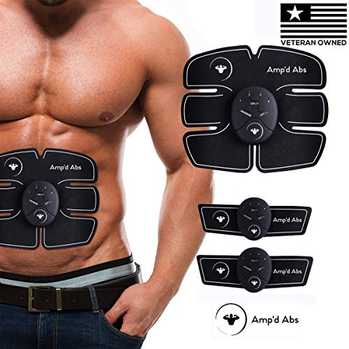 Abs Stimulator Muscle Toner, Abdominal Toning Belt...