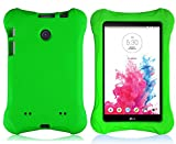 Bolete LG G Pad 7.0 EVA Case – Ultra Light Weight Shock Proof Convertible Kids Friendly for LG G Pad V410 (LTE) / V400 / VK410 / UK410 (G Pad F7.0) 7-Inch Android Tablet(Green)
