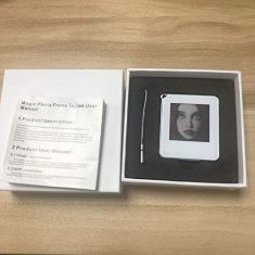 E-Ink-Picture-Display-TagPassive-NFC-Powered-154inch-E-Paper-Screen-Mini-Digital-Picture-Frames-with-Tagtek-App-for-DIY-GiftsKidsFansKeyLuggage-and-Personalized-Dog-Tags