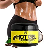 Hot Vita Hot Gel ThermoActive – Workout Enhancer Sweat Cream with Coconut oil, Jojoba Seed Oil, Coffee Arabica Seed Extract, Olive Oil and Green Tea Leaf Extract for Women (6 Ounce)