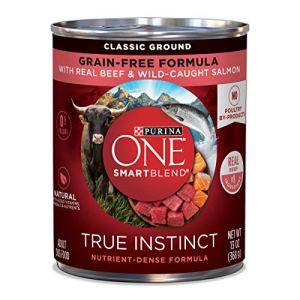 Purina ONE SmartBlend True Instinct Adult Canned Wet Dog Food 1