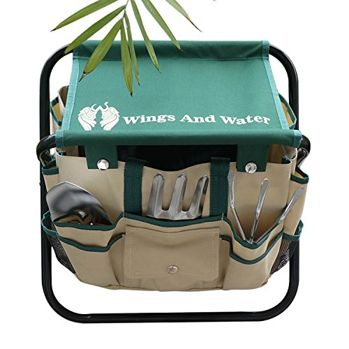 Wings And Water 7 Piece Garden Tool Set All In One Tool