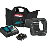Makita XRJ07R1B 18V LXT Lithium-Ion Sub-Compact Brushless Cordless Recipro Saw Kit (2.0Ah)