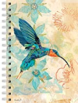 Lang Hummingbird of Sagrada Garden of Plumes Spiral Journal by Evelia Sowash (1350005)