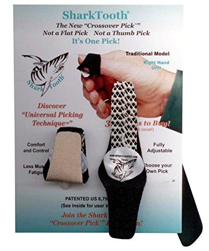 Strum-N-Comfort Sharktooth Traditional Crossover Pick
